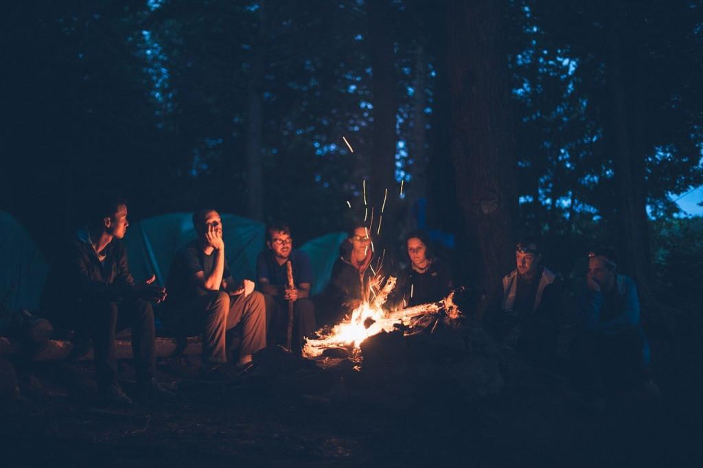 Bonfire campground