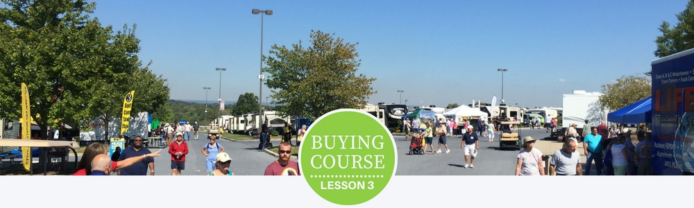 Buying Course Lesson 3 - How to Find the Right RV as You Shop for Your Next RV