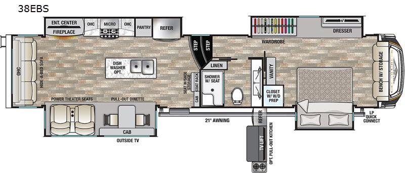 Cedar Creek Floorplan