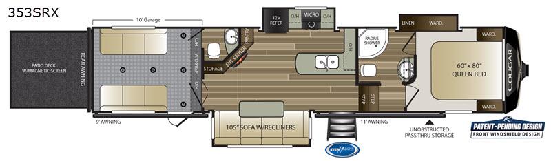 Cougar floorplan