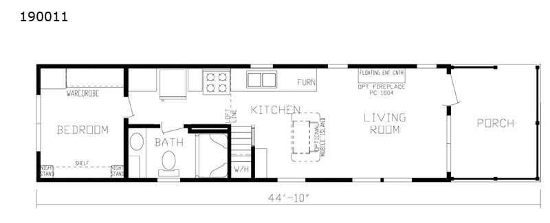Fairmont floorplan
