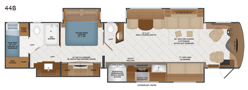 Fleetwood floorplan