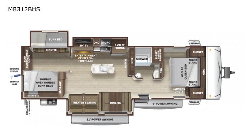 Highland floorplan
