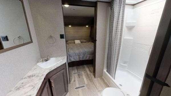 Jayco jay flight bathroom