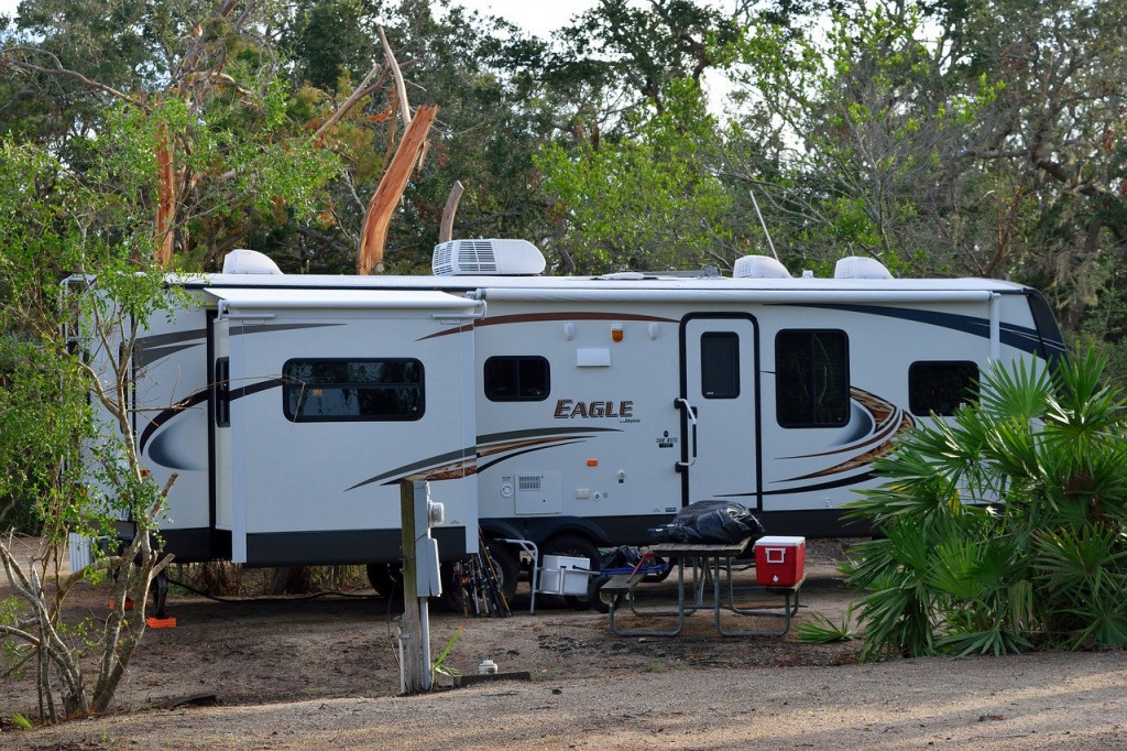RV at Campsite