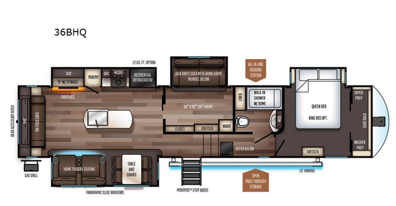 Sabre Floorplan