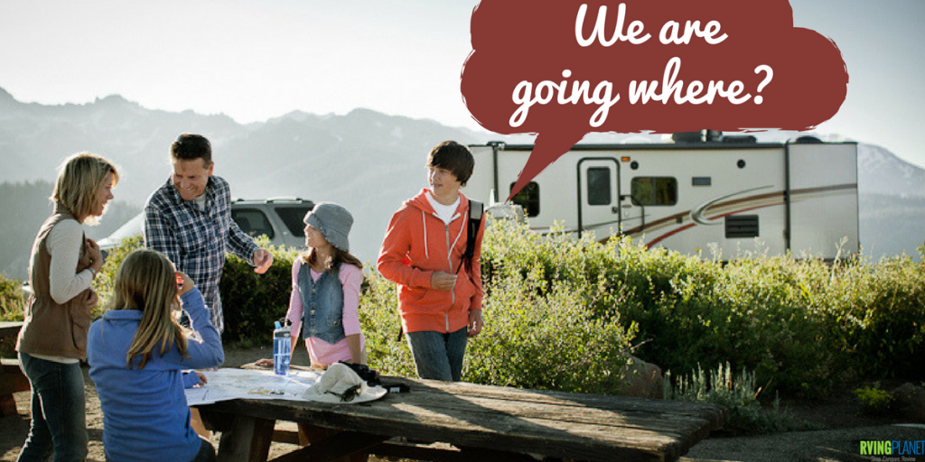 Where will you be camping? - RVingPlanet.com
