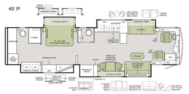 Tiffin Floorplan