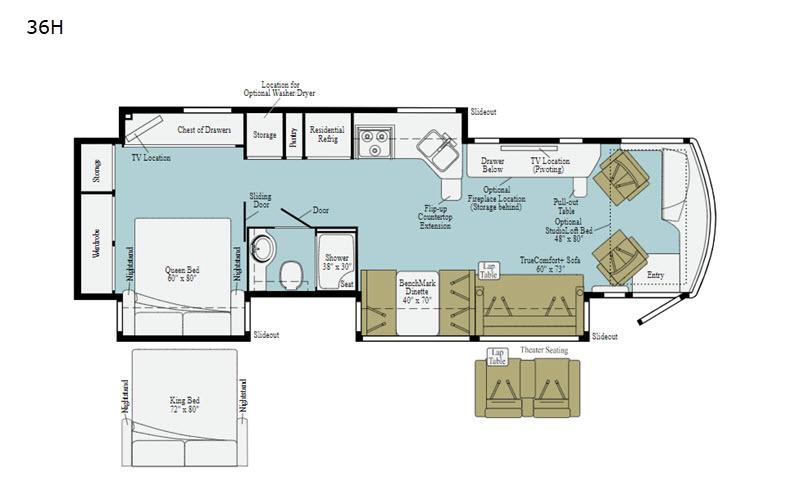 Winnebago floorplan