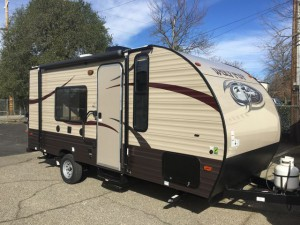 View All Forest River Wolf Pup Travel Trailer Floorplans