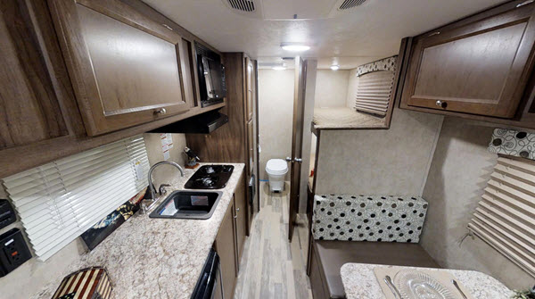 3 Coachmen Clipper Ultra Lite Travel Trailer