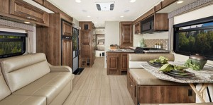 motorhomes with bunk beds