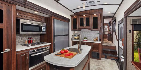 Tremendous Top 5 Best Fifth Wheels With Front Kitchen Rvingplanet Blog Download Free Architecture Designs Momecebritishbridgeorg