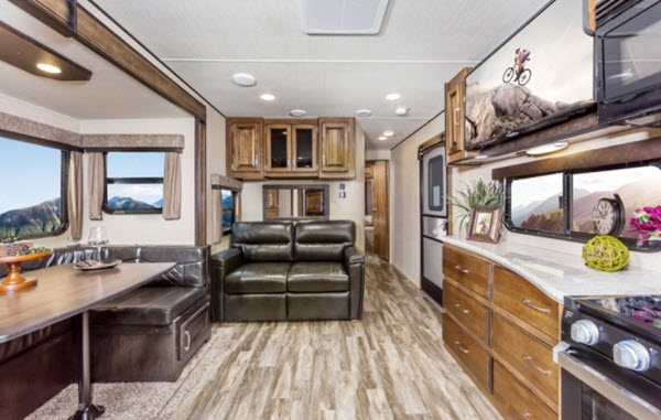 Travel Trailer With Large Bathroom.Top 5 Best Luxury Travel Trailers Rving Planet Blog
