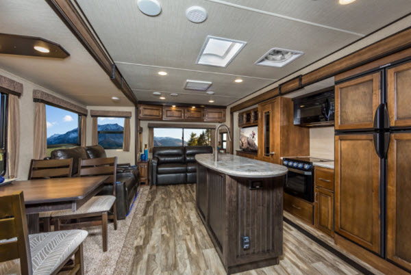 View All Grand Design Reflection Travel Trailer Floorplans