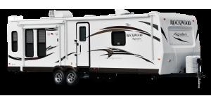 Forest River Rockwood travel trailer
