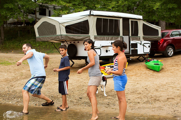 Top RVs To Rent - Pop Up Foldable Camper