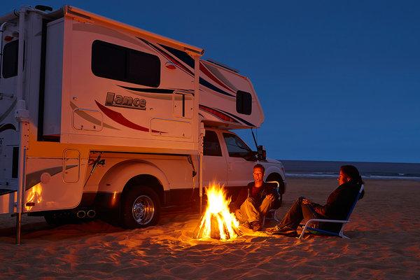 Top RVs To Rent - Truck Camper