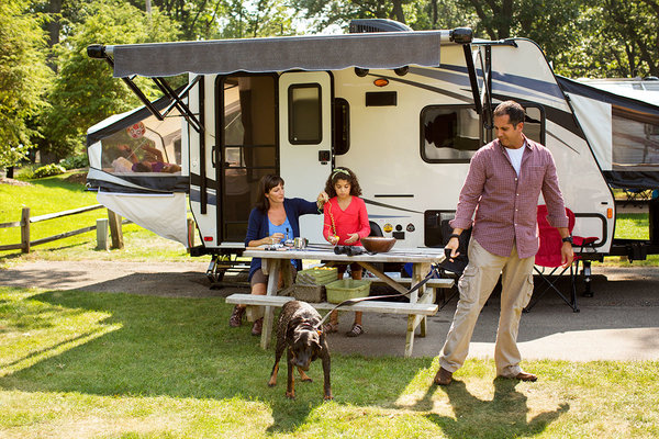 Top RVs To Rent - Expandable Travel Trailers