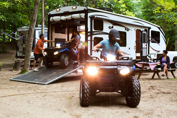 Top RVs to Rent - Toy Haulers
