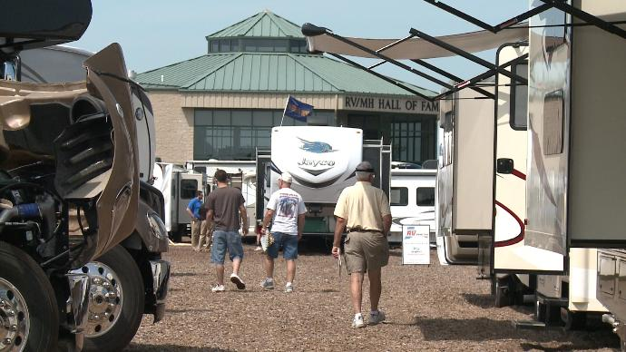 Midwest RV Super Show in Elkhart, IN