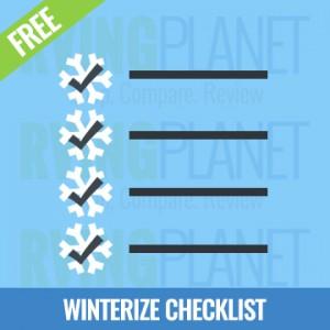 FREE Winterize Your RV Checklist